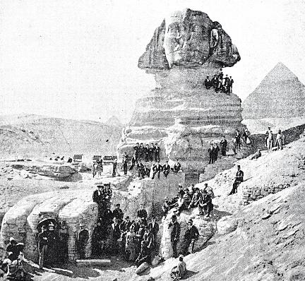 Visit of the Sphinx of Giza