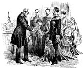 Visitors came on the birthday of Kaiser Wilhelm I - 1888