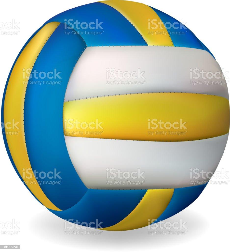 Volleyball ball royalty-free stock vector art
