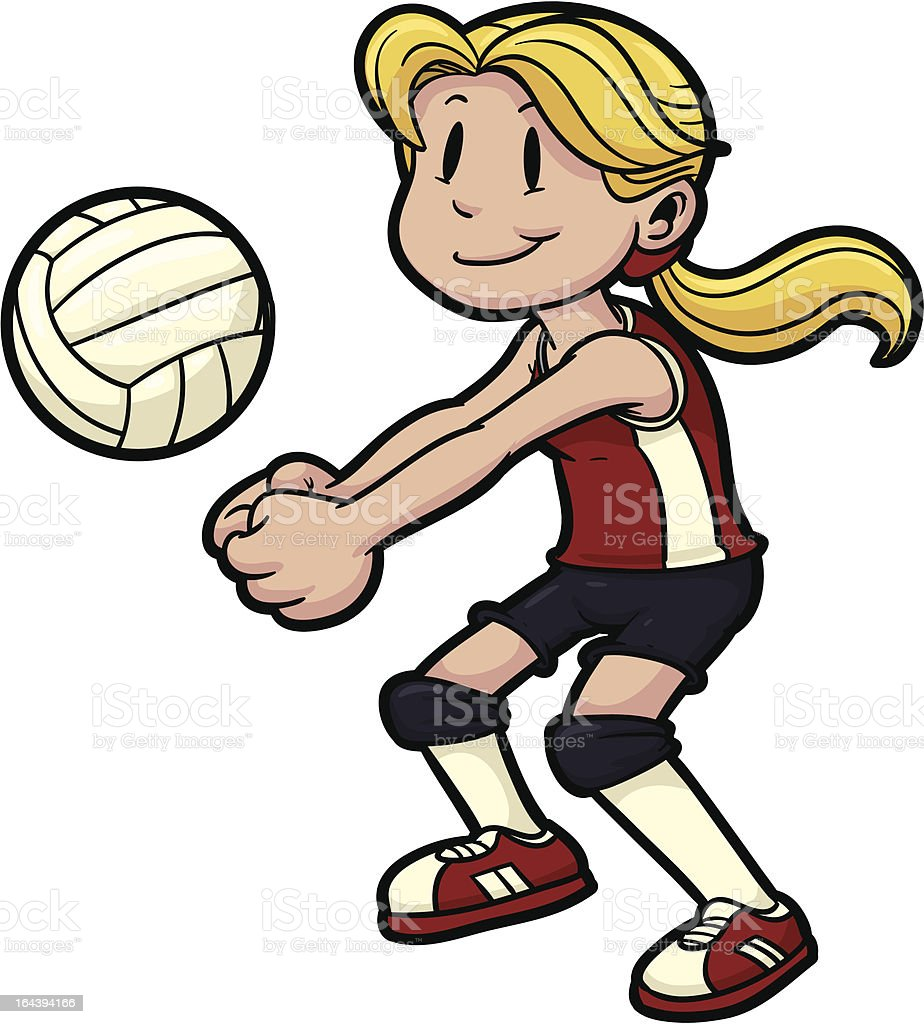 royalty free indoor volleyball clip art vector images rh istockphoto com clip art volleyball logos clipart volleyball ball