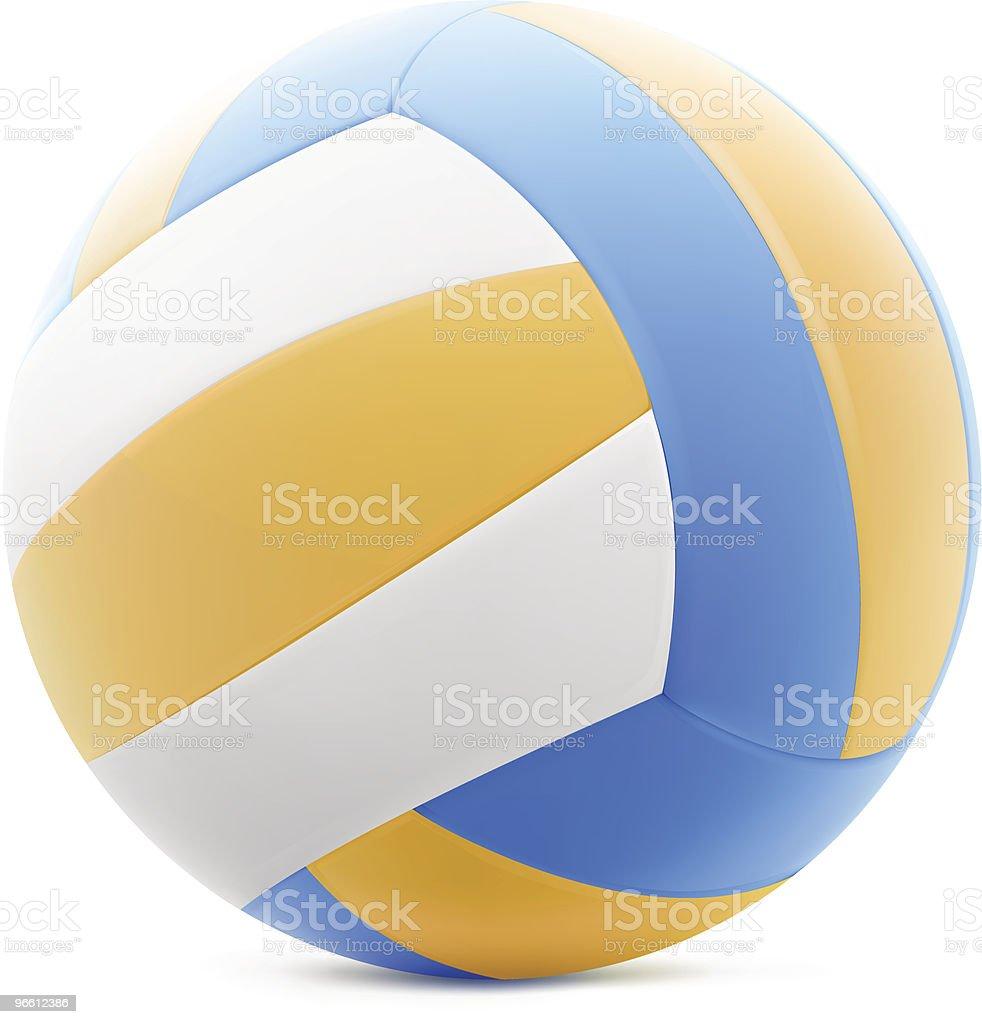 Волейбол - Векторная графика Без людей роялти-фри