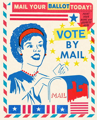 Vote By Mail Collage