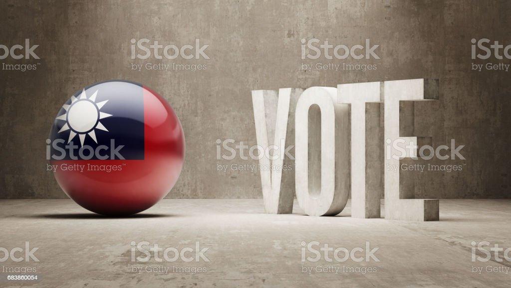 Vote Concept vector art illustration
