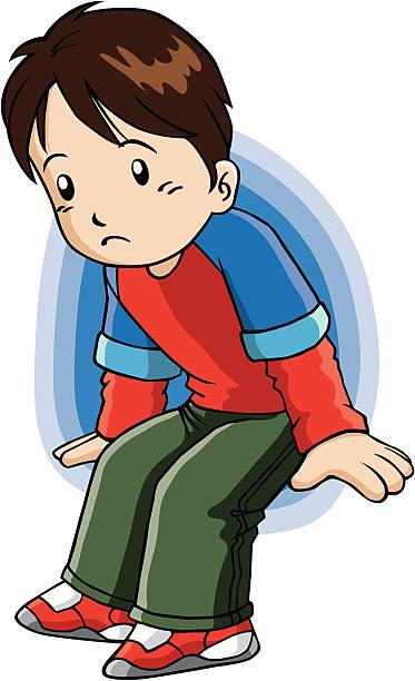 Sad Boy Clip Art, Vector Images & Illustrations - iStock