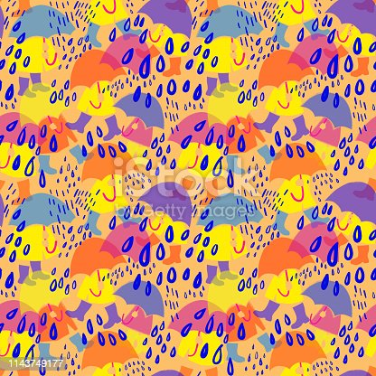 seamless pattern for paper, wallpaper, textile