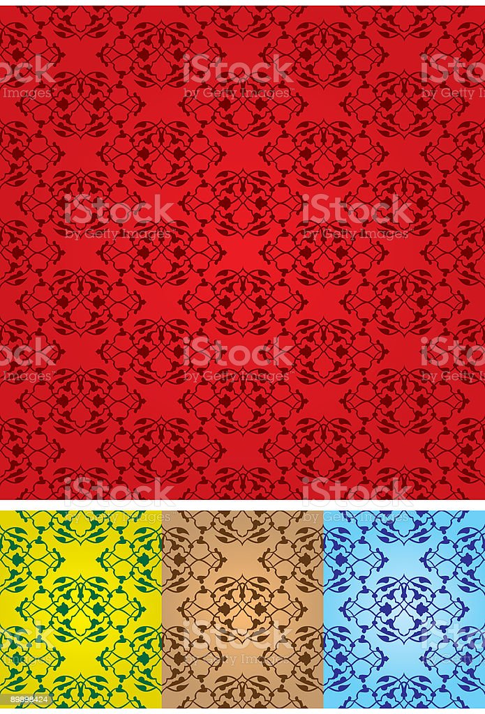 Wall Designe royalty-free wall designe stock vector art & more images of antique