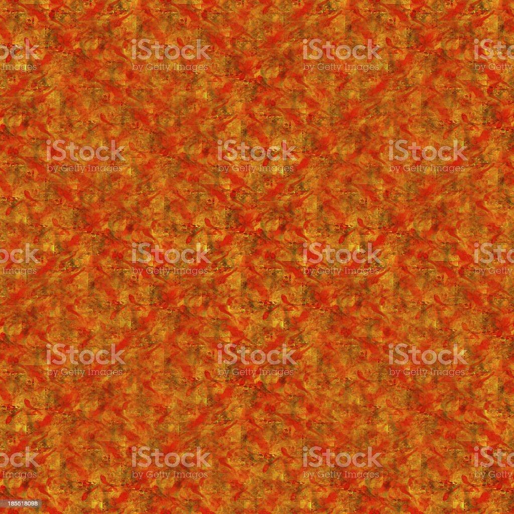 Orange Vif Arriereplan De Papier Peint Sans Couture Aquarelle A La