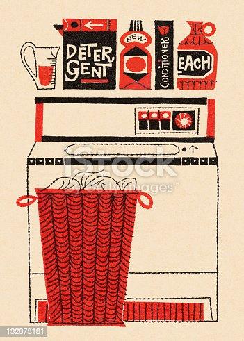 Washing Machine, Laundry and Soap