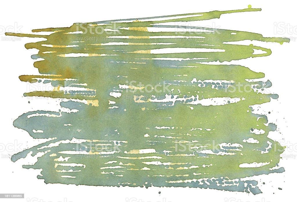 Water Color Paint Splatter Stock Texture royalty-free stock vector art