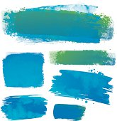 istock Water colour backgrounds 165799440