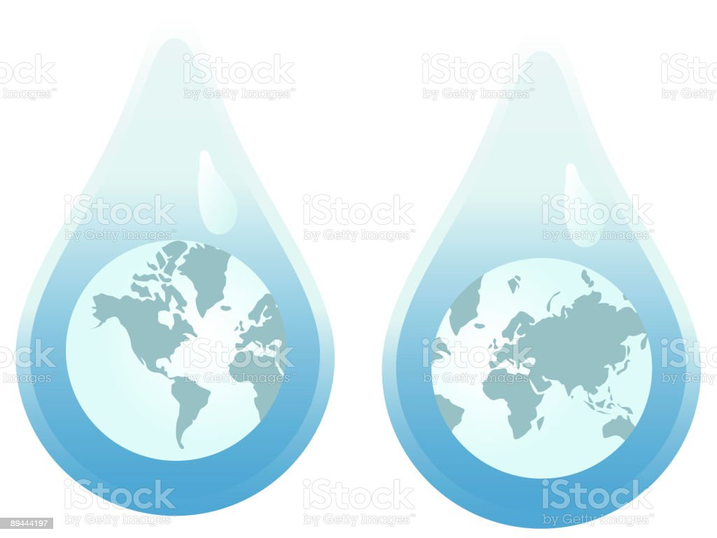 Water Concervation royalty-free water concervation stock vector art & more images of color image