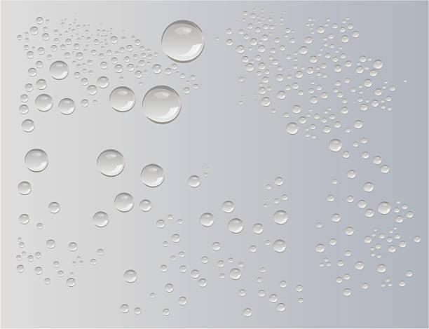 水雨滴ベクター - 水滴点のイラスト素材/クリップアート素材/マンガ素材/アイコン素材