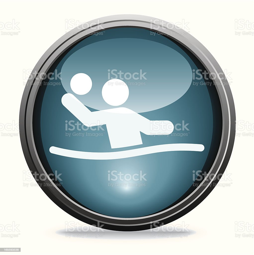 Water Polo | Glass Collection royalty-free stock vector art