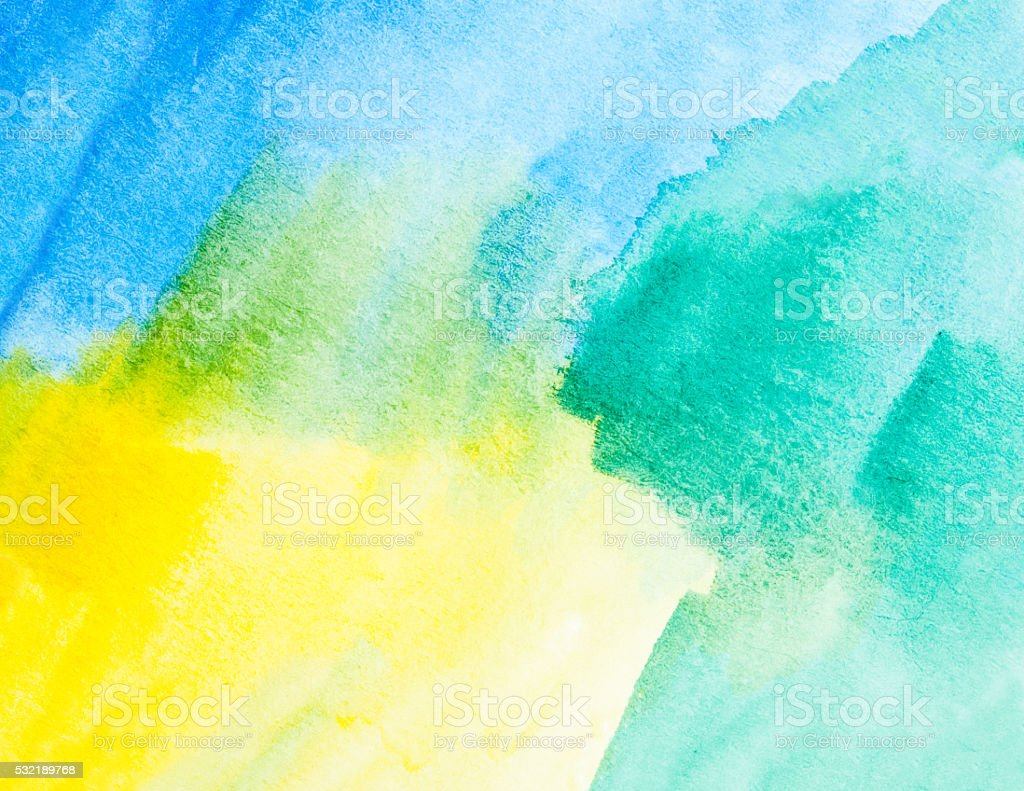Watercolor Abstract Color Background Stock Vector Art & More Images ...