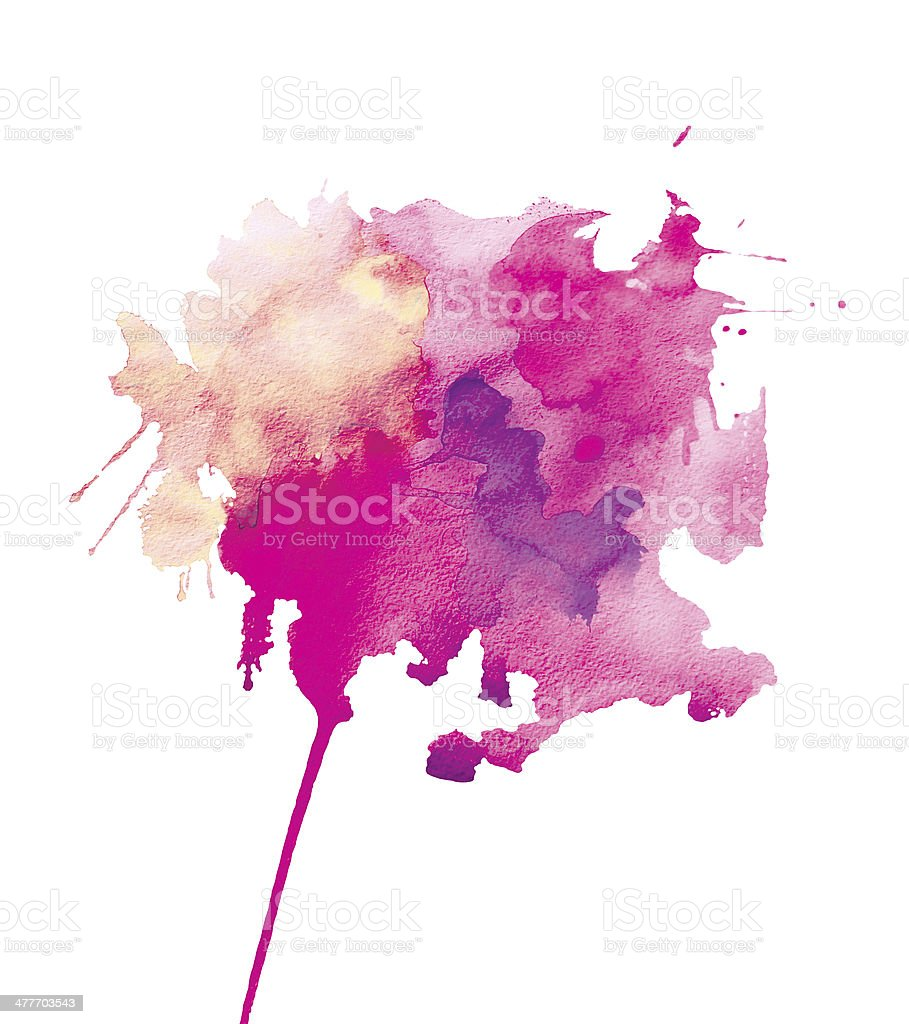 watercolor abstraction vector art illustration