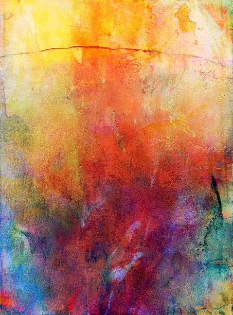 Aquarell und gouache Hintergrund – Vektorgrafik
