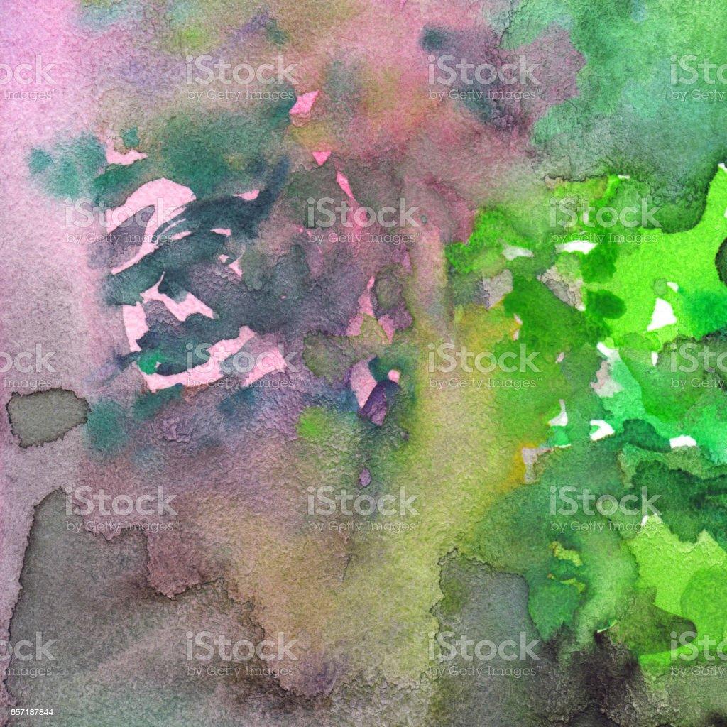 Aquarell Aquarell Malen Abstrakte Textur Muster Hintergrund Stock Vektor Art Und Mehr Bilder Von Abstrakt