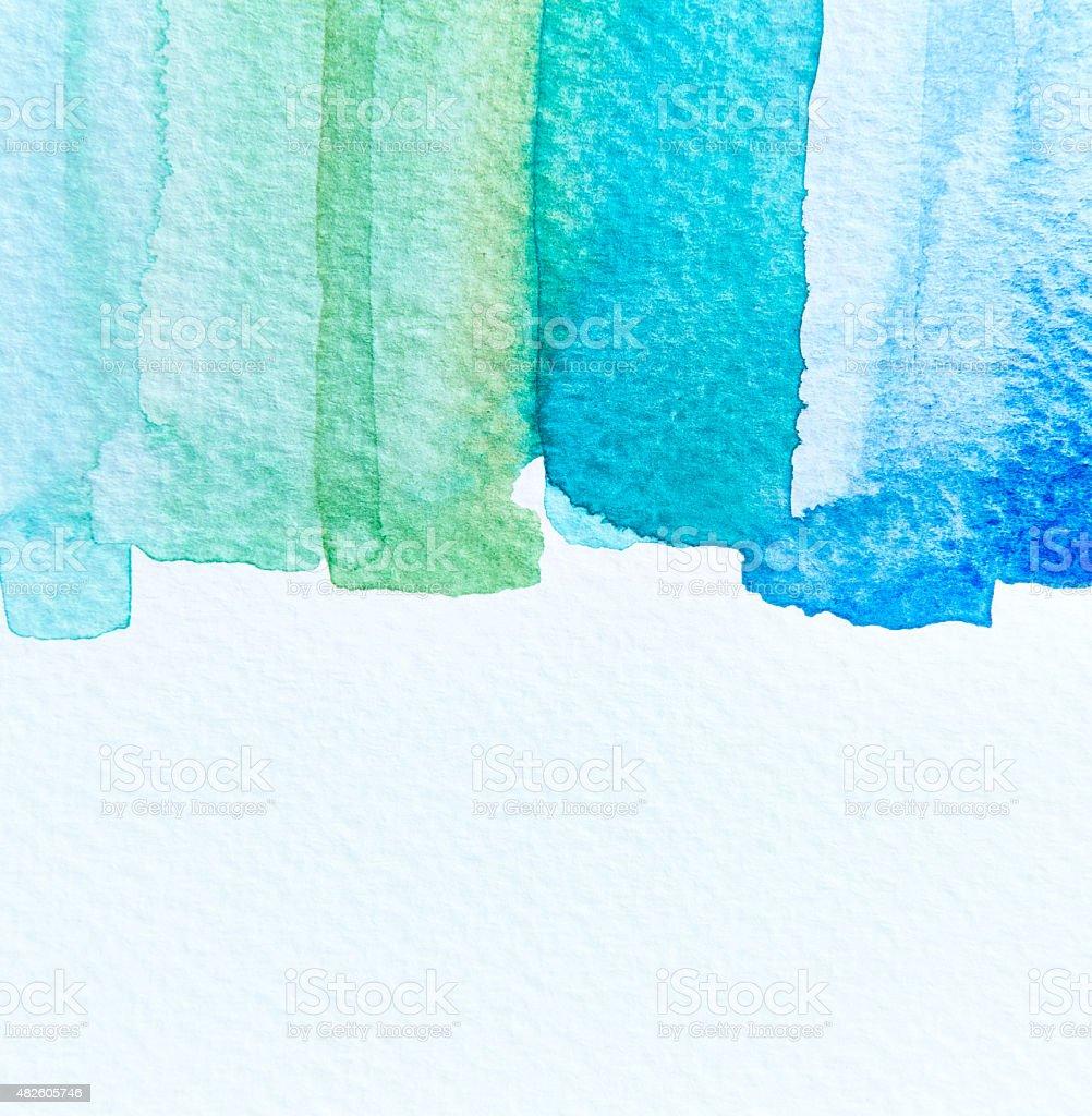 Watercolor background vector art illustration