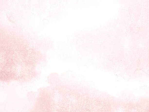 tekstura tła akwarela w subtelnym różowym stylu - abstrakcyjny blady pastelowy wzór blaknie do białego - pastelowy kolor stock illustrations