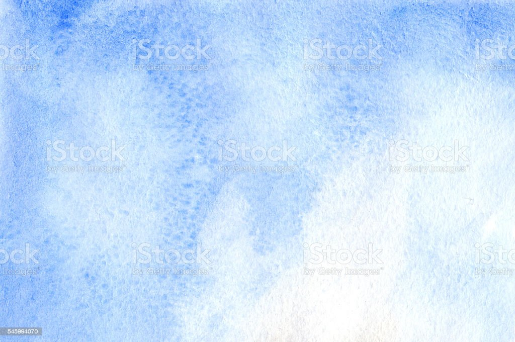 watercolor blue white sky template texture background かすみの