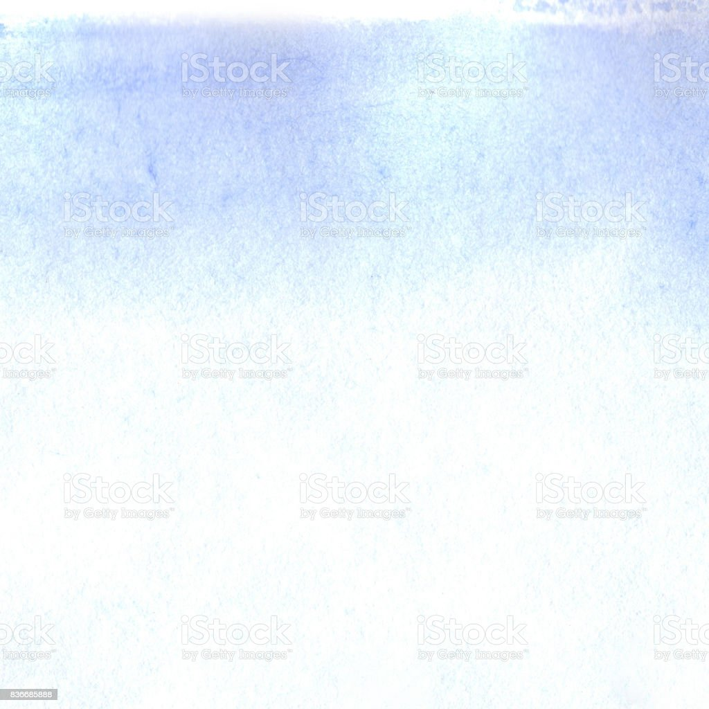 水彩画青空白いテンプレート テクスチャ背景 からっぽのベクターアート