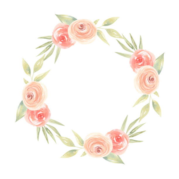 Top 60 Peach Flower Clip Art, Vector Graphics and ...