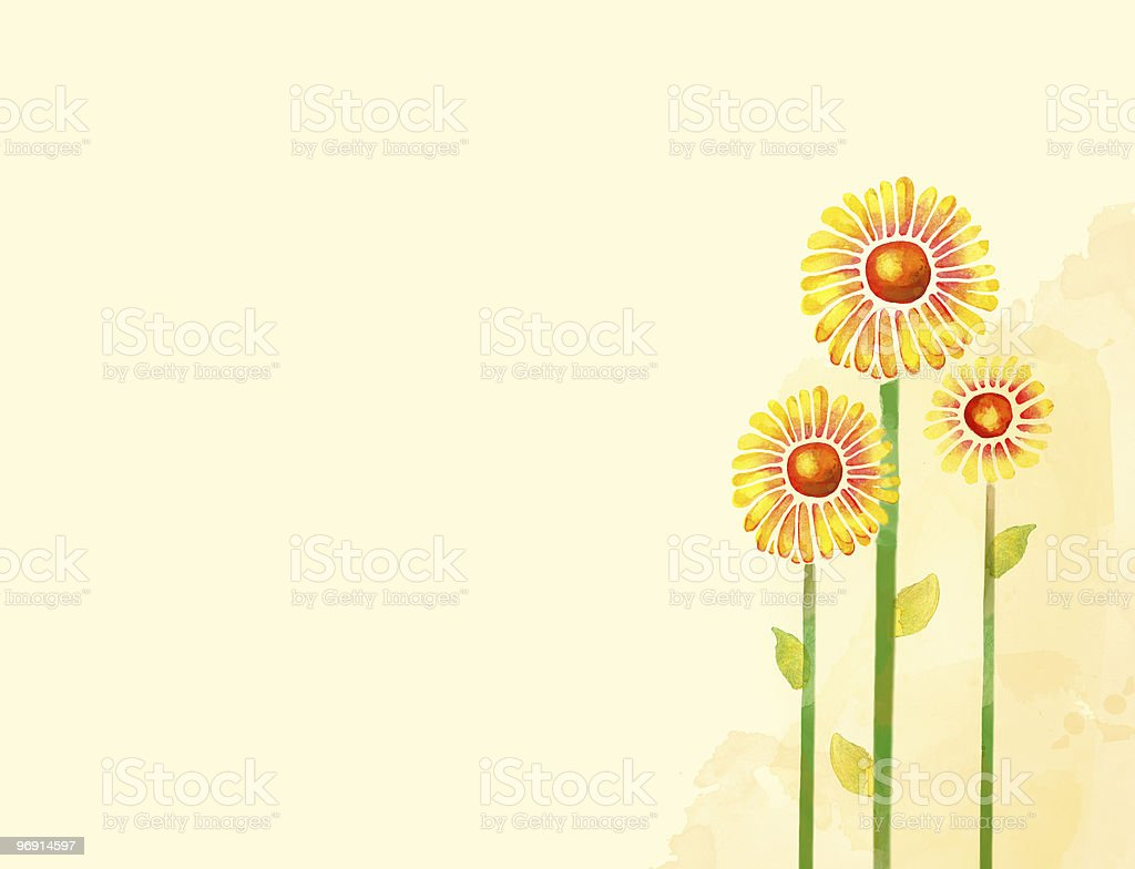 Watercolor flower royalty-free watercolor flower stock vector art & more images of antique