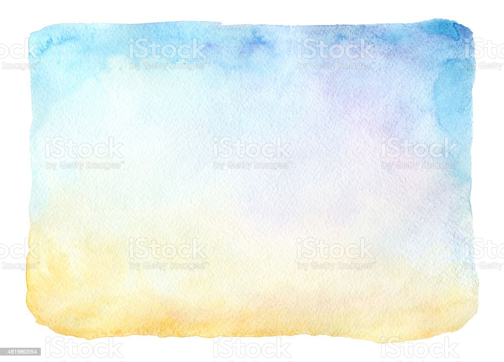 Aquarell frame – Vektorgrafik