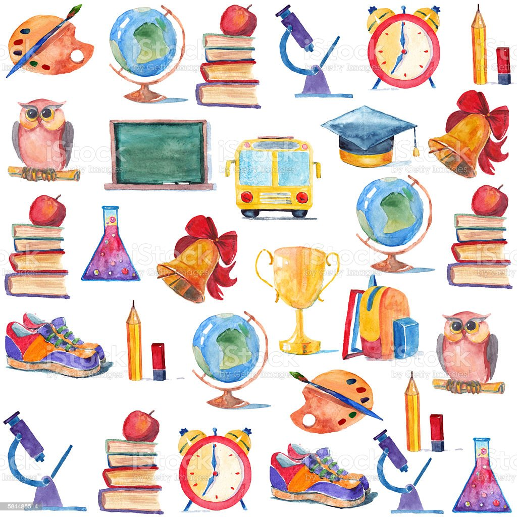 """Image result for """"Schedule"""" water color clip art"""
