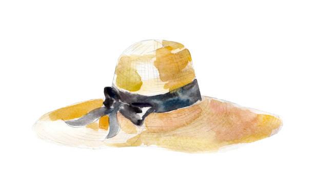 麦わら帽子 イラスト素材 Istock