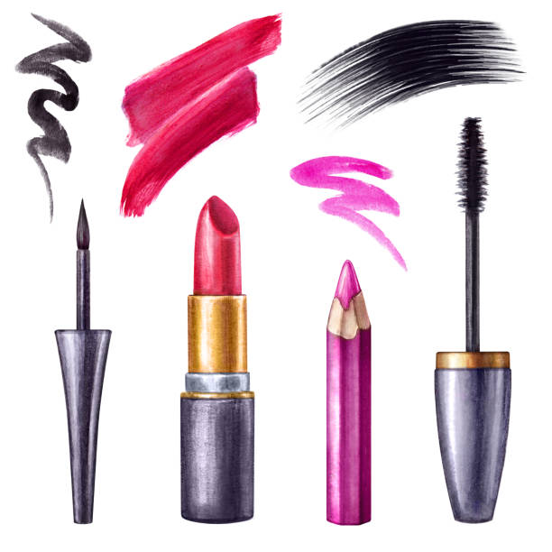 Top Lipstick Swatch Clip Art, Vector Graphics and ...