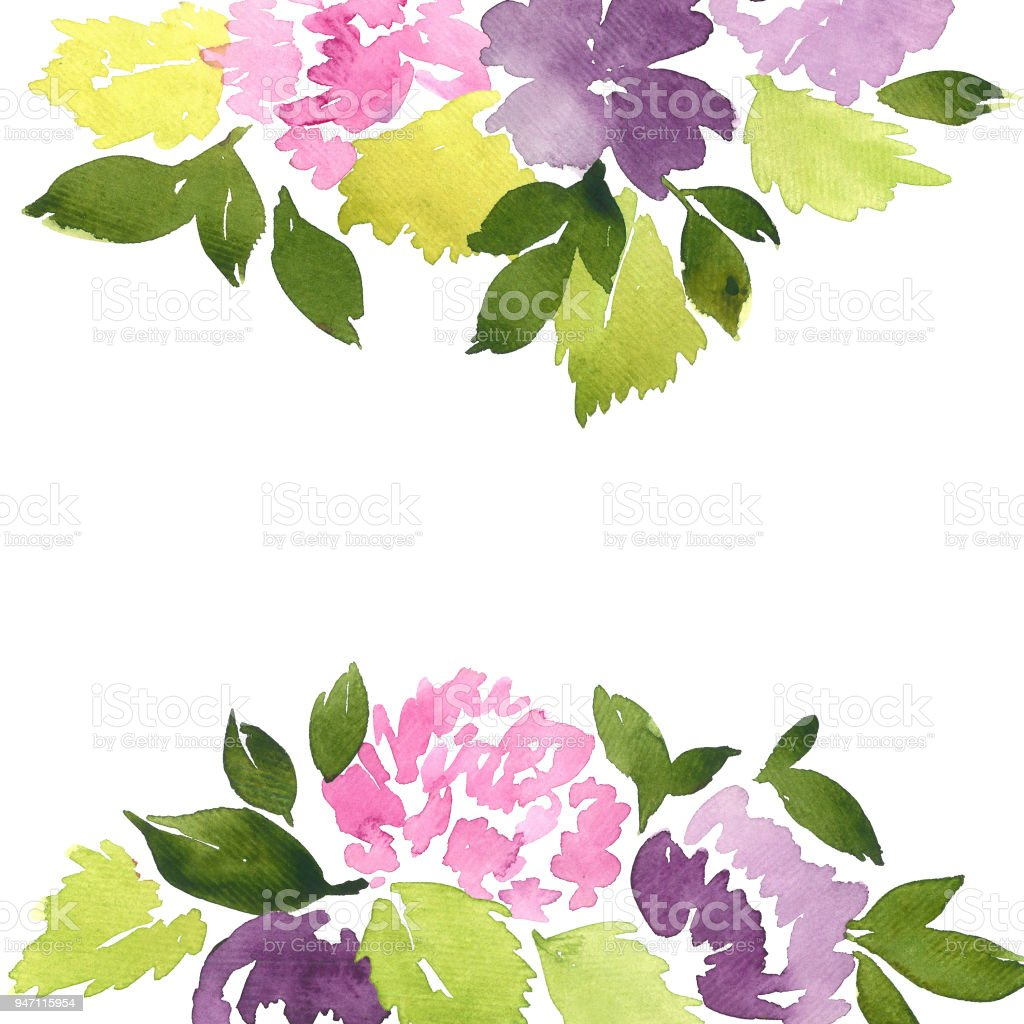 Watercolor loose dahlia flowers hand painted floral arrangement watercolor loose dahlia flowers hand painted floral arrangement royalty free watercolor loose dahlia flowers izmirmasajfo