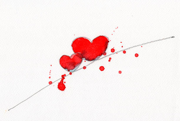 Royalty Free Dual Effect Clip Art Vector Images Illustrations - Clip-art-of-heart