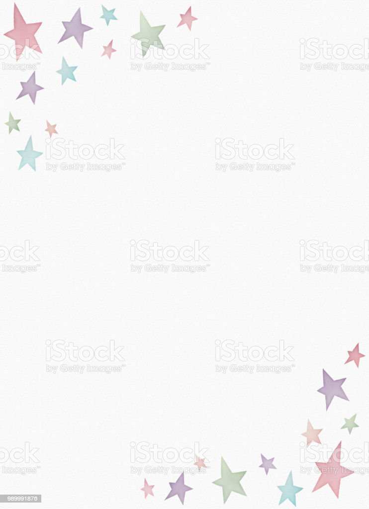 Watercolor painting star pattern copy space royalty-free watercolor painting star pattern copy space stock vector art & more images of analog