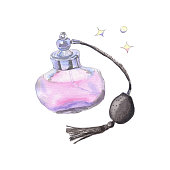 Watercolor perfume