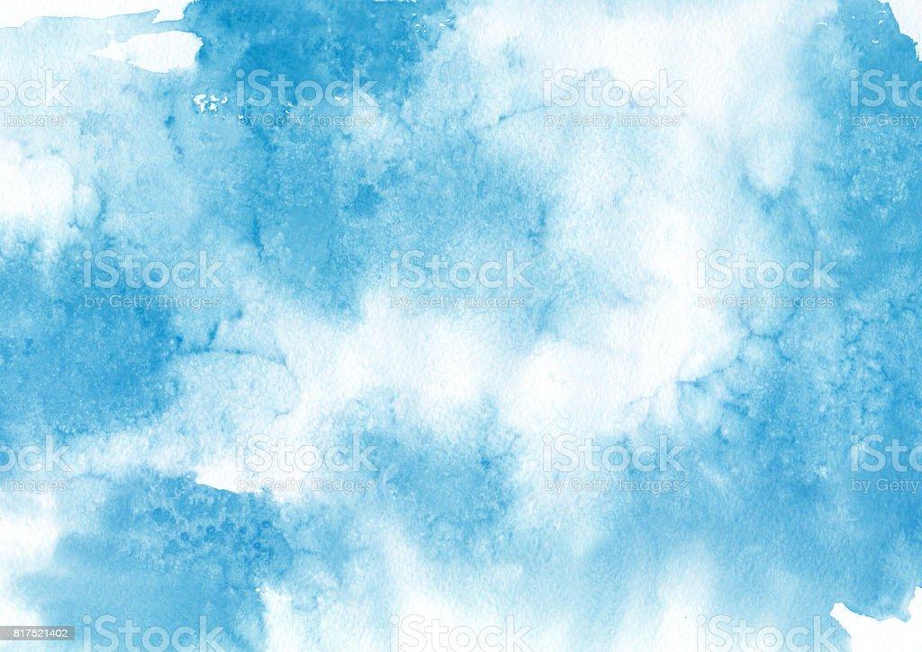 Watercolor splash texture vector art illustration