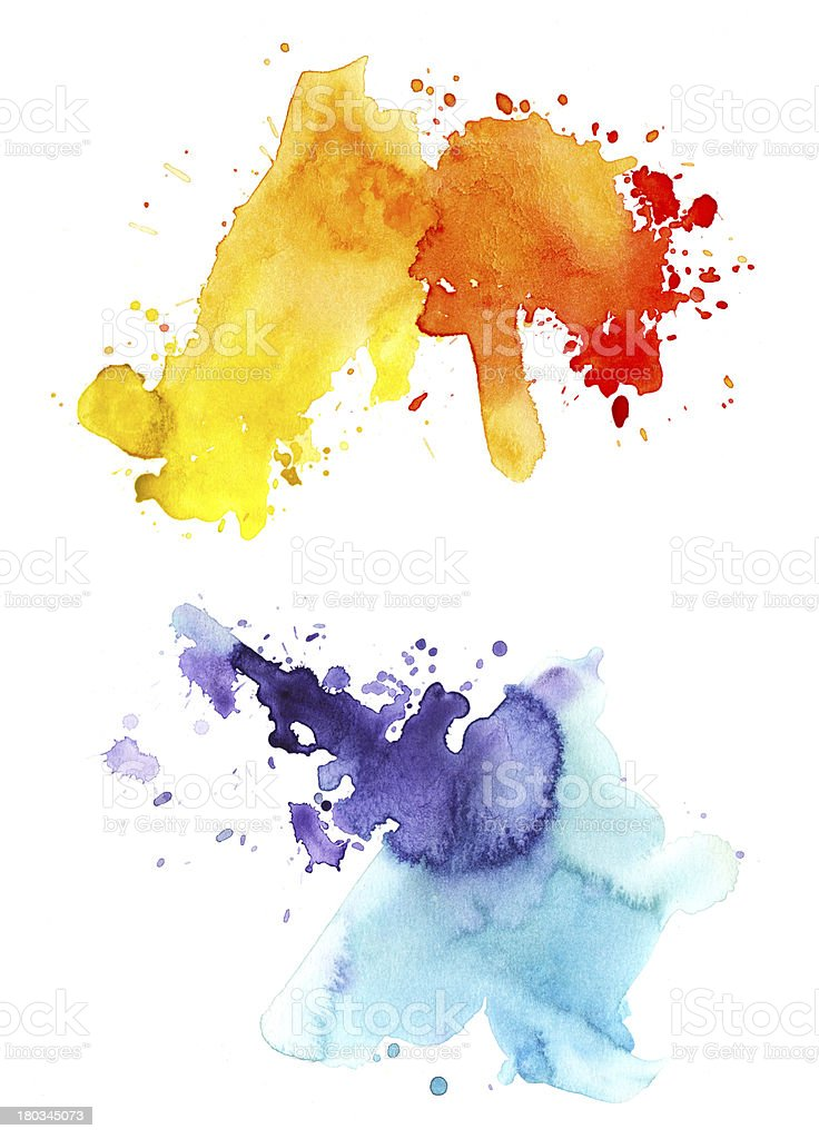 watercolor splashes royalty-free watercolor splashes stock vector art & more images of abstract