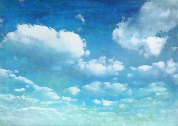 Best Cloud Sky Illustrations, Royalty-Free Vector Graphics
