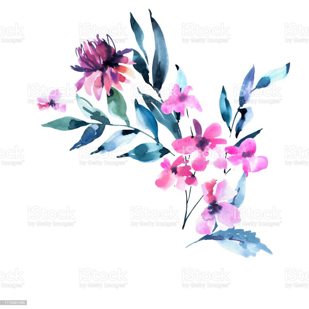 Turquoise Wildflowers