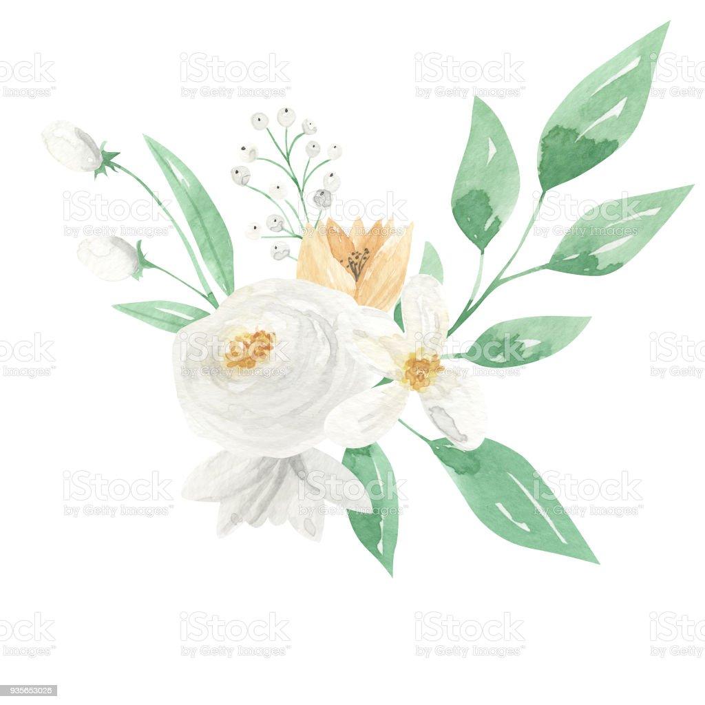 çiçek Demeti Boyama