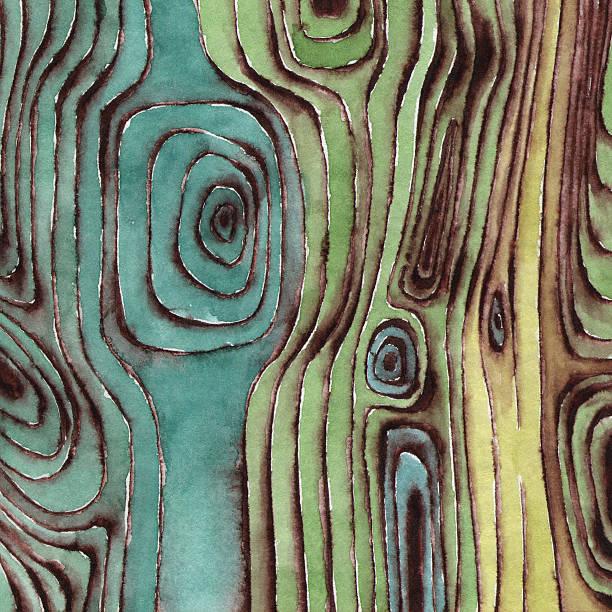 Acuarela superficie de madera - ilustración de arte vectorial