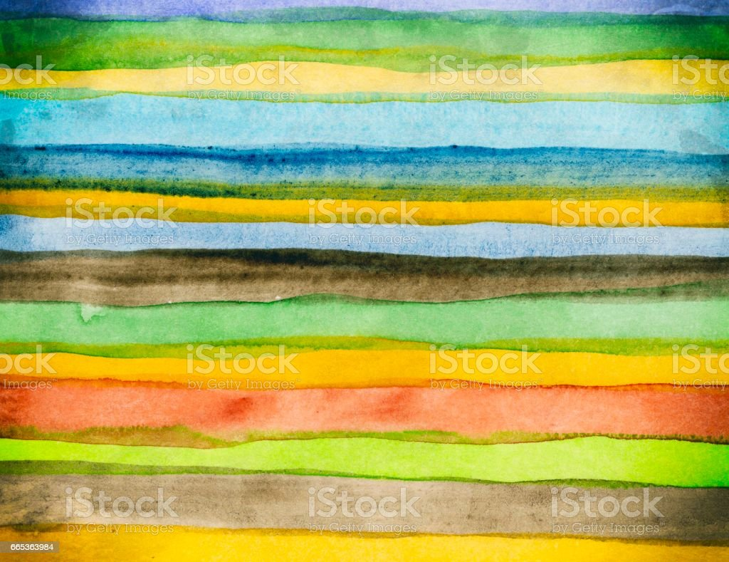 watercolors vector art illustration