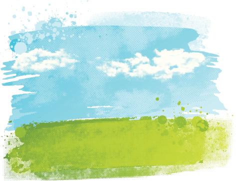 Watercolour field
