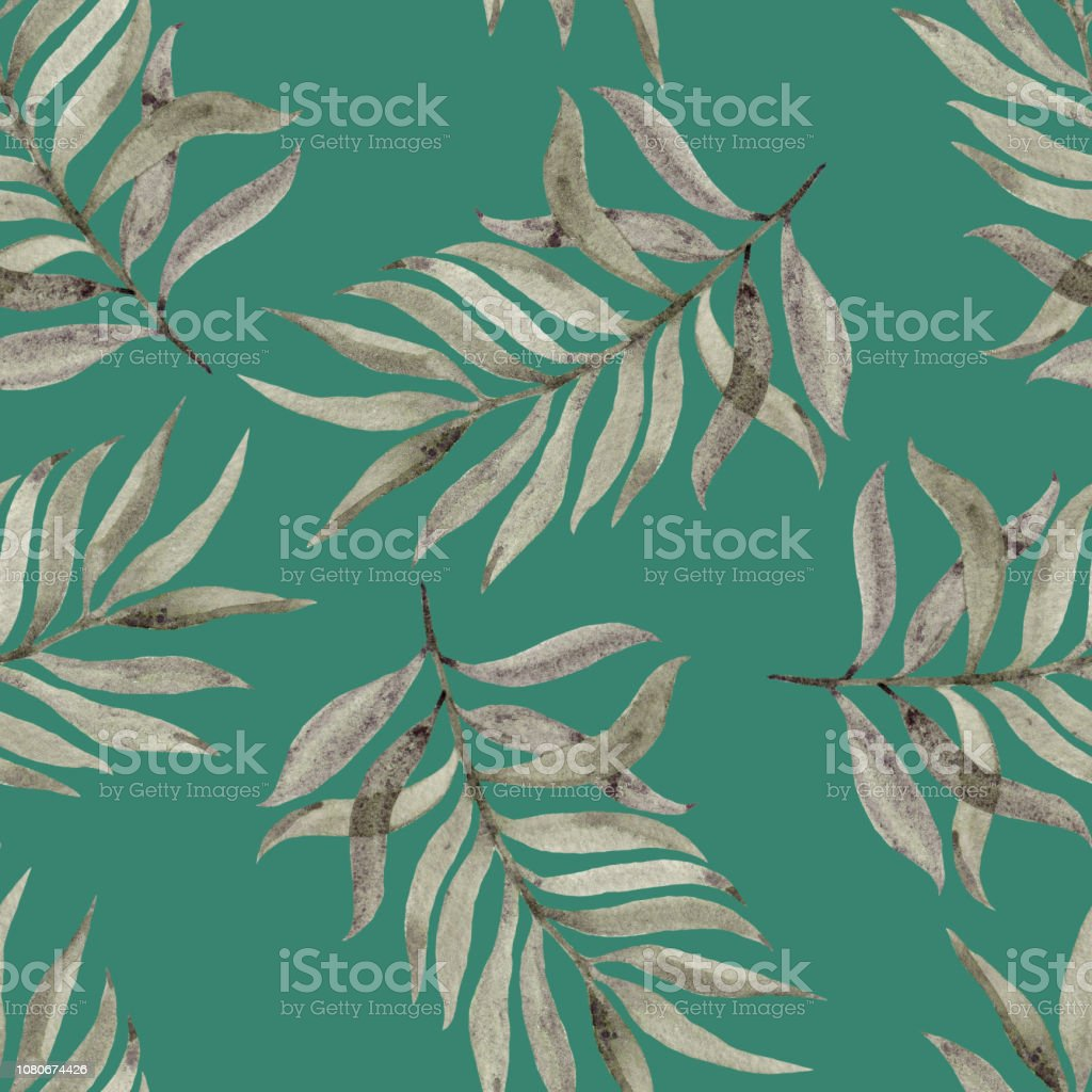 Watercolour Hand Painted Beautiful Design For Wallpapers