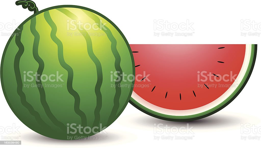 watermelon royalty-free watermelon stock vector art & more images of food