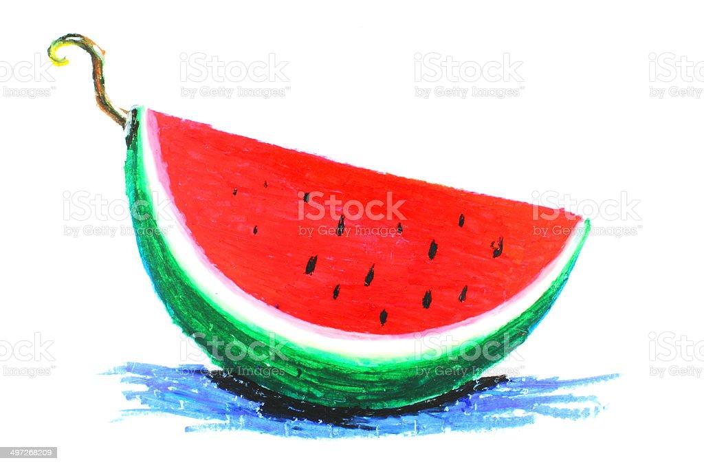 Wassermelone Stock Vektor Art Und Mehr Bilder Von Abnehmen 497268209
