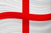 ENGLISH waving flag