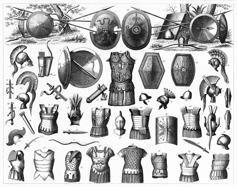 Weapons of the Greeks, Etruscans and Romans