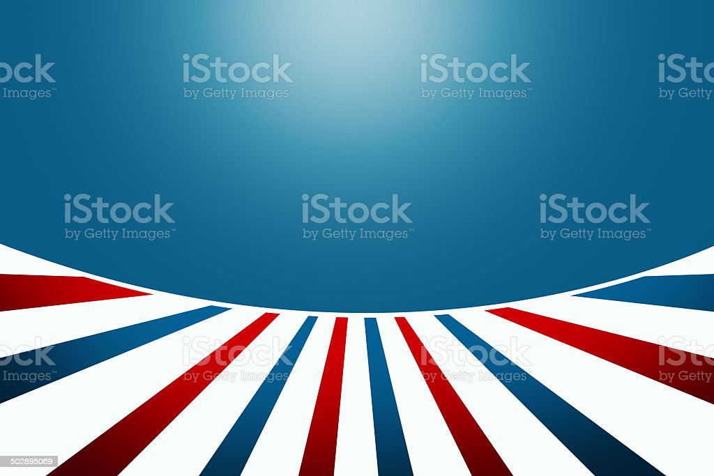 Wear your stripes with pride for your country vector art illustration