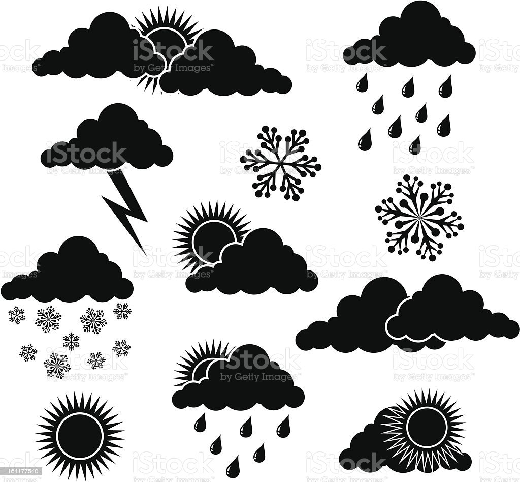 Weather elements for design royalty-free weather elements for design stock vector art & more images of autumn